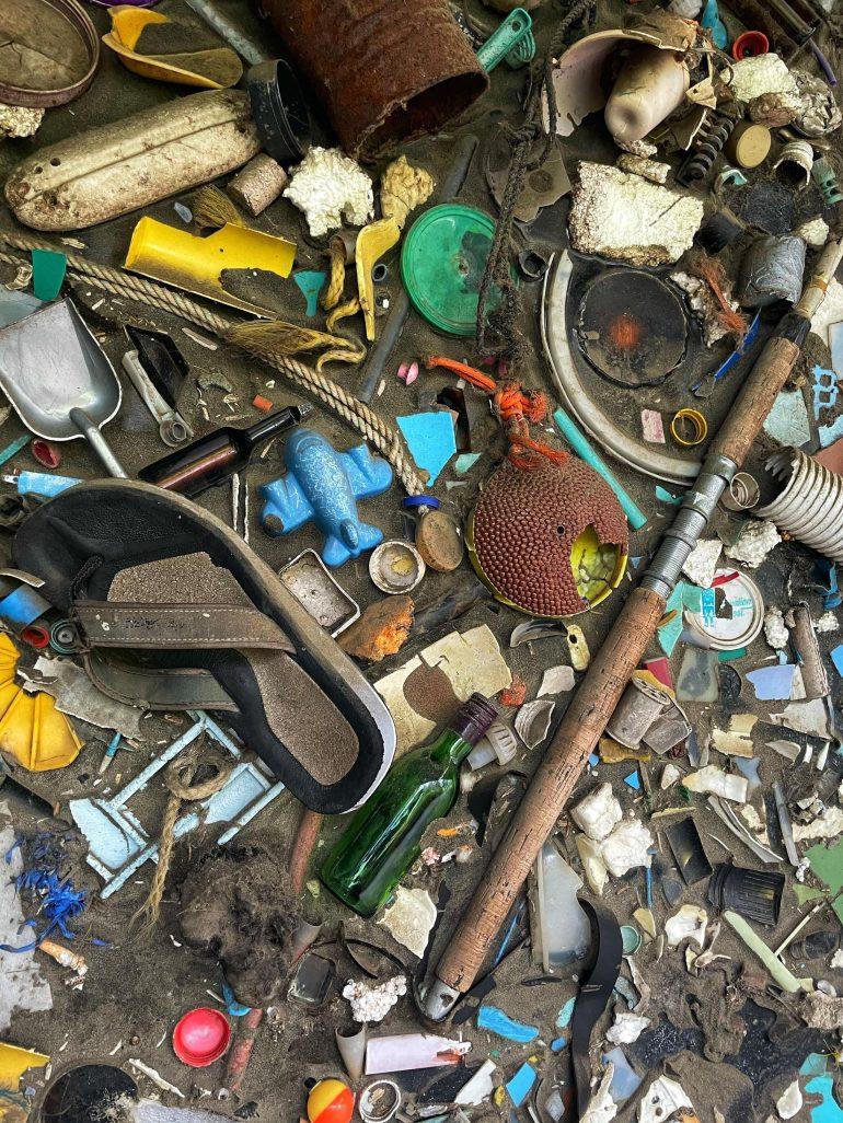 Ocean Trash at Oregon Coast Aquarium in Newport, Oregon