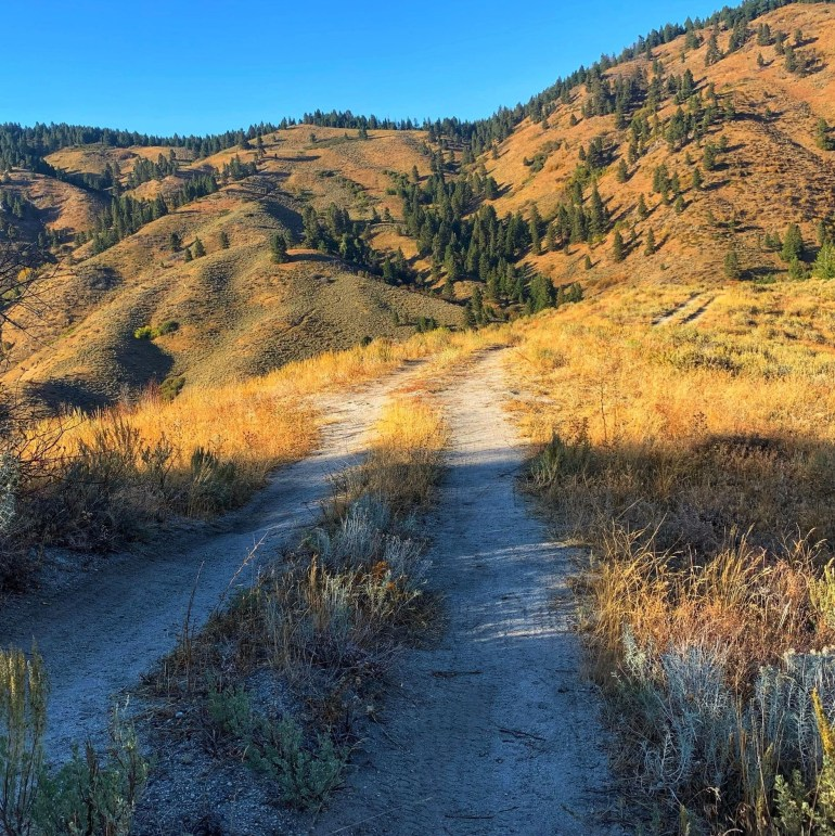 Hiking Stack Rock Trail Near Boise, Idaho
