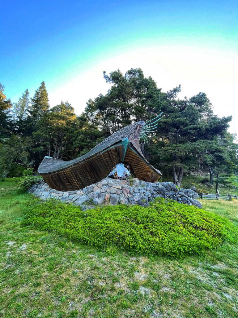 An Early Morning at Sea Ranch Chapel in Sea Ranch, California