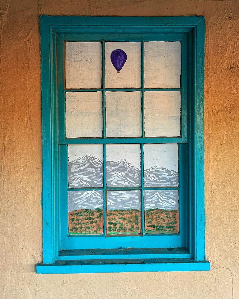 Monday Window in Old Town Albuquerque
