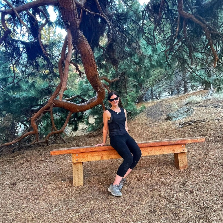 Pull Up a Seat Under the Trees at Smith Rock State Park Near Bend, Oregon