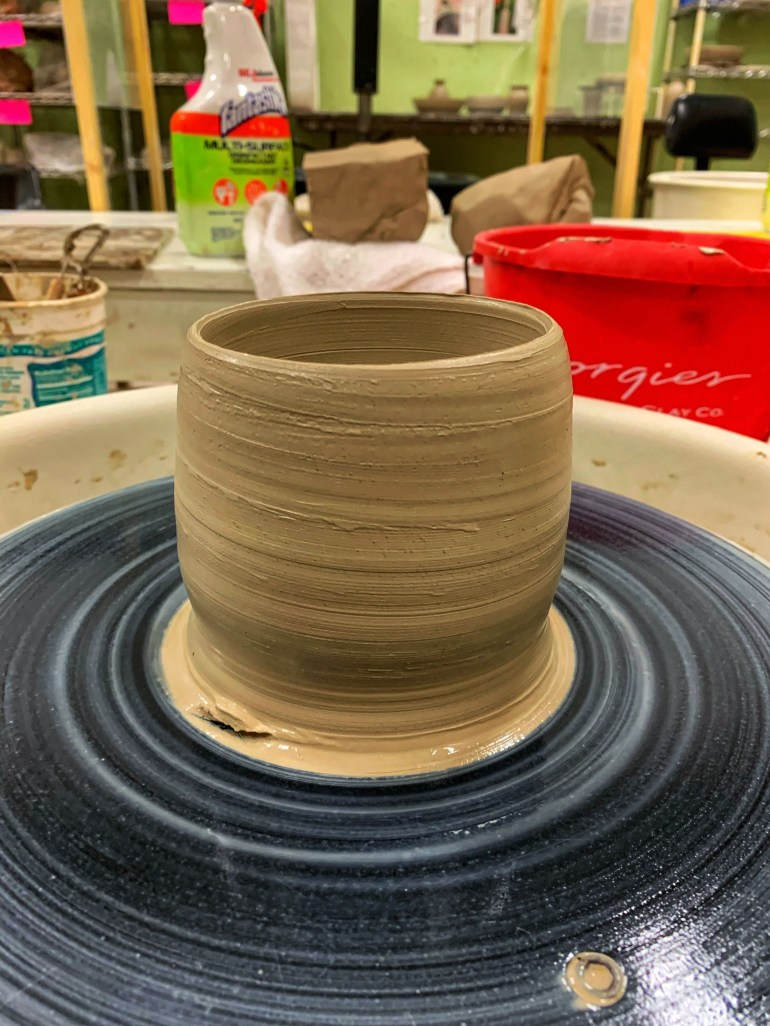 On the Pottery Wheel: Throwing Tumblers