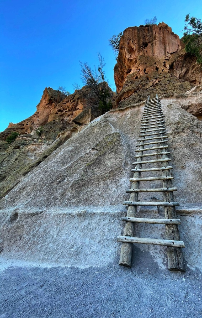 Photo taken at Bandelier National Monument in New Mexico