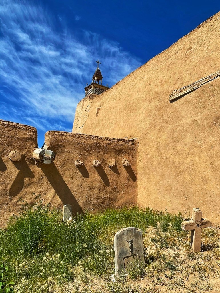 Weekend Sky (and Architecture) Near Taos, New Mexico