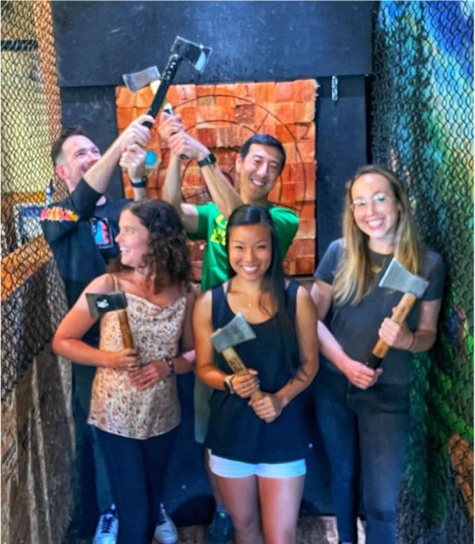 Photo taken at Celtic Axe Throwing @ Laurelwood Brewery