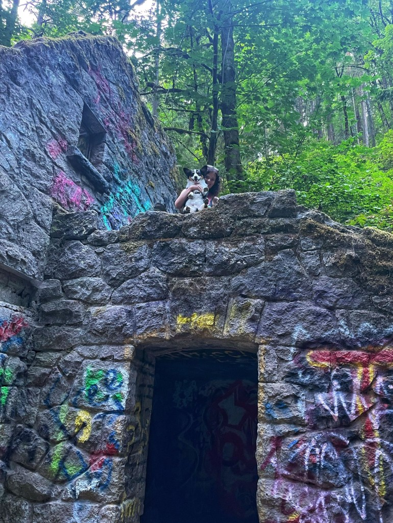 Thursday (lack of) Doors, Witch's Castle at Forest Park in Portland Oregon