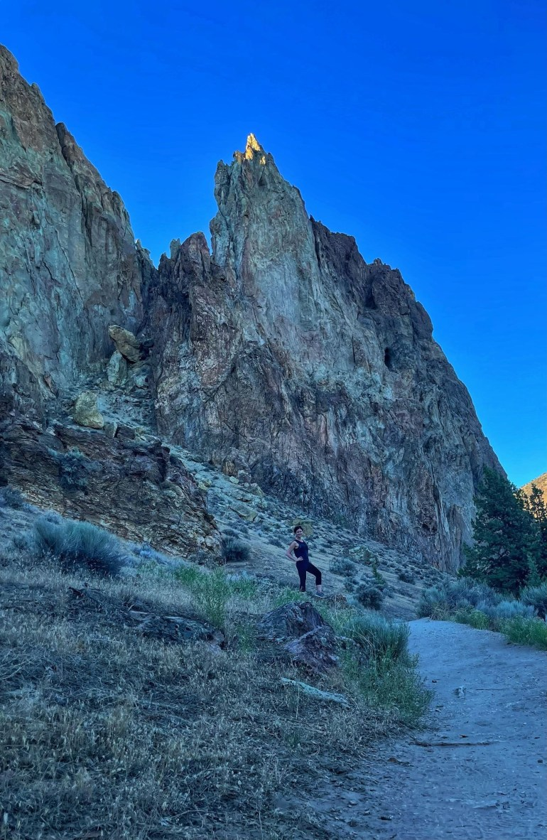 Focal Point: At Smith Rock State Park, Oregon