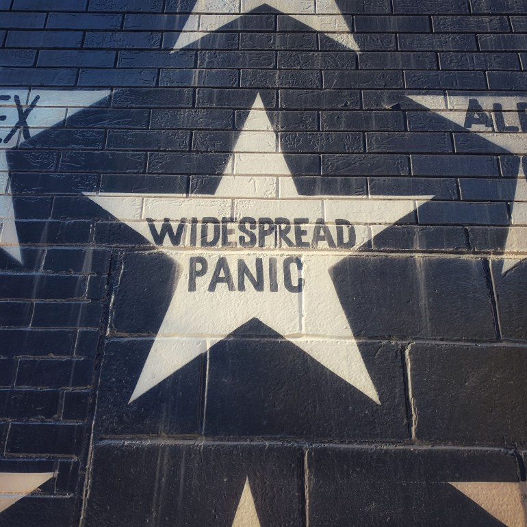 Widespread Panic's Star on First Ave in Minneapolis, Minnesota