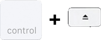 Control-delete