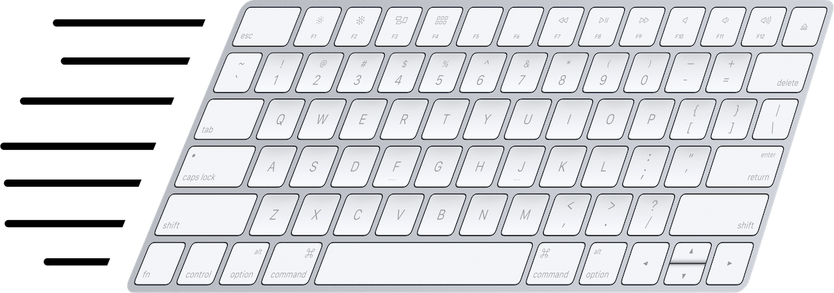 Fast keyboard