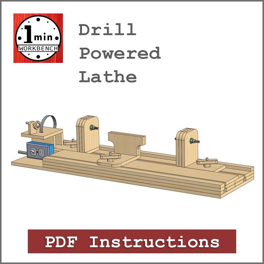Admirable Drill Powered Lathe Building Instructions Machost Co Dining Chair Design Ideas Machostcouk
