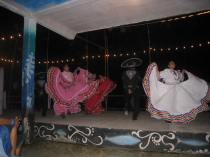 Ballet Folklorico by the local high school kids