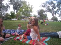 Family night at the park