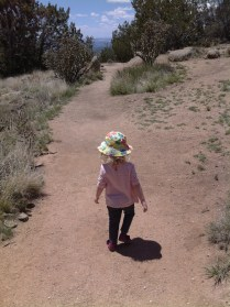 Hiking on Mothers' Day
