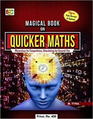Magical Book on Quicker Maths Paperback – 1 January 2018