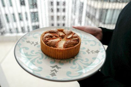 Speculoos Tart with Apple