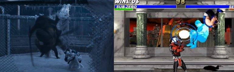 mortal kombat game and movie comparison 17