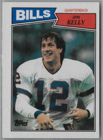 1994 Topps Finest #5 Jim Kelly Buffalo Bills Football Card