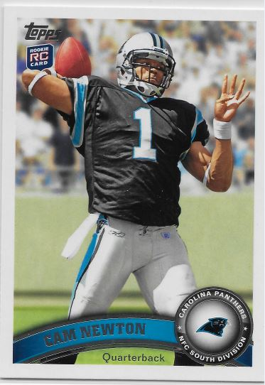 CamNewton Topps Rookie
