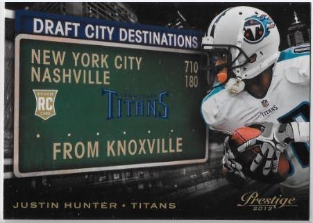 Justin Hunter Draft City Destinations