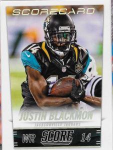 2014 Score Justin Blackmon SC