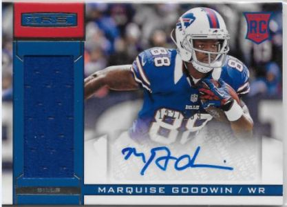2013 R&S Marquise Goodwin Auto Patch