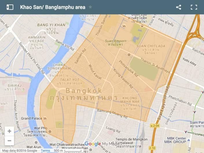 Dove alloggiare a Bangkok. Khao San Road