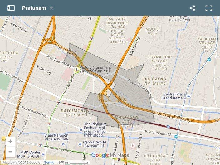dove alloggiare a Bangkok. Pratunam