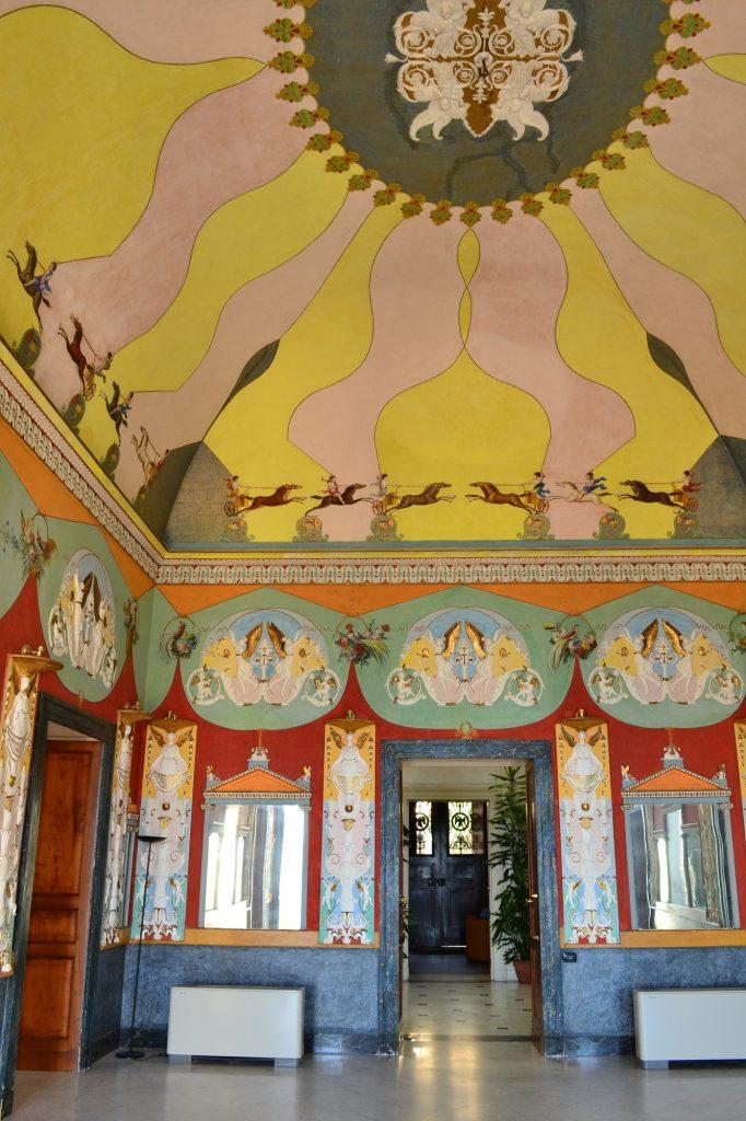 Interni Villa Doria d'Angri