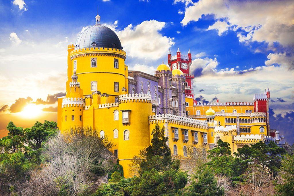 Palacio Da Pena - Sintra Portogallo