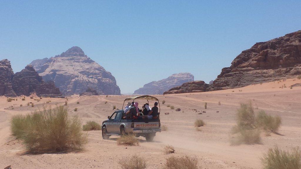 escursione wadi rum
