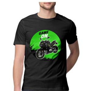 kawasaki ninja superbike racing biker t shirt for men