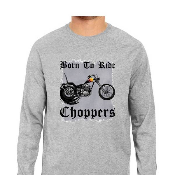 american chopper biker motorcycle full sleeves shirt for men