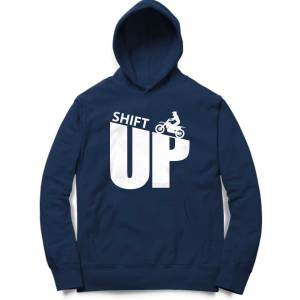 shift up off road typography biker motorcycle sweatshirt hoodie for men and women