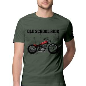 Bike chopper motorcycle classic t shirt for men