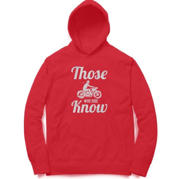 stylish typography biker motorcycle sweatshirt hoodie for men and women