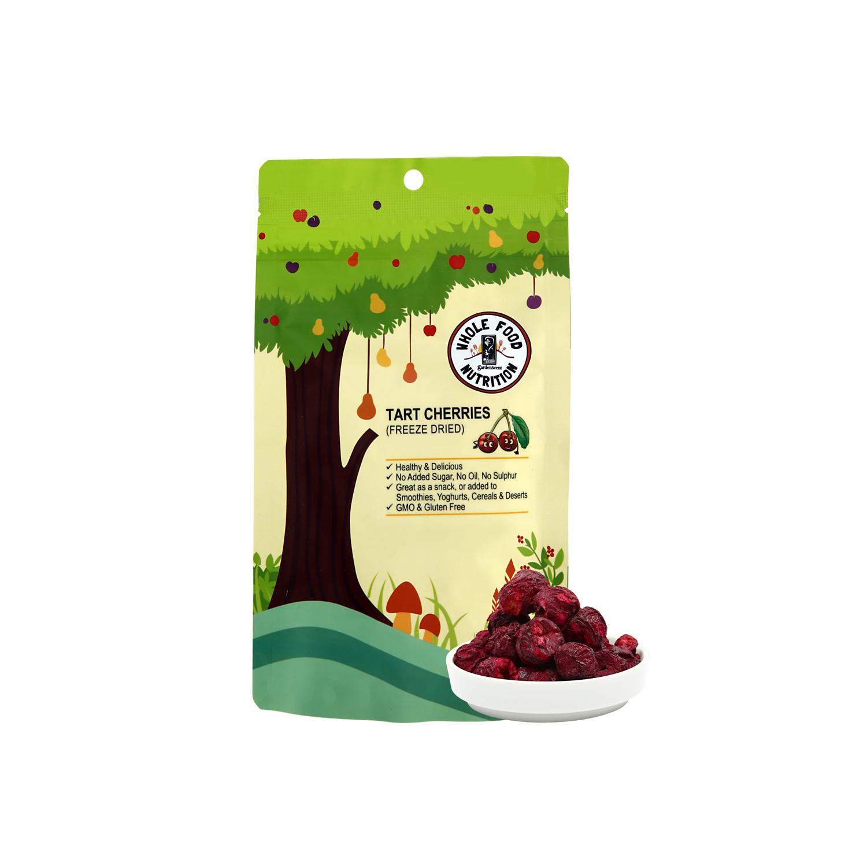 Tart Cherries, freeze-dried (30 gm) - One Nature