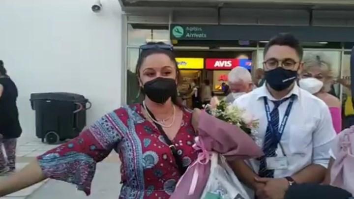 Της τράβηξαν την μάσκα: Πανικός στη Μυτιλήνη για την υποδοχή της Μαργαρίτας