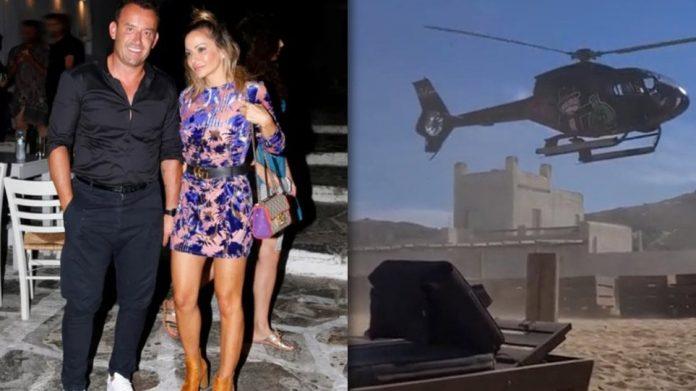 Βασίλης Χήτος: Ποιος ο Mr Zagori που προσγείωσε ελικόπτερο σε παραλία στη Μύκονο. Σάλος [video]