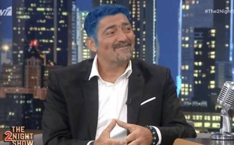 Μιχάλης Ιατρόπουλος: Γιατί έβαψε τα μαλλιά του μπλε – «Άκακος άνθρωπος» ο Στράτος Τζώρτζογλου