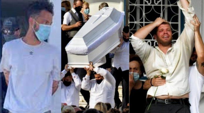 Χαμός στην κηδεία Γαρυφαλλιάς Ψαράκου: Σπαραχτικός επικήδειος, τι εξετάζουν για Δημήτρη Βέργο