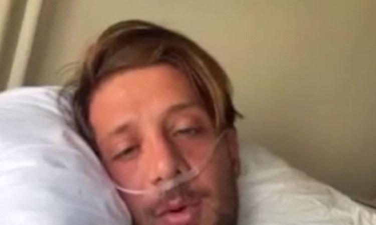 Ηλίας Μπόγδανος: Η νέα φωτογραφία μέσα από το νοσοκομείο – Τα νέα για την υγεία του πρώην πάικτη του Survivor