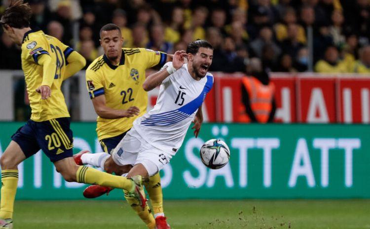 Σουηδία – Ελλάδα 2-0: Δοκάρια και γκέλες στερούν απ' την Εθνική το όνειρο του Μουντιάλ