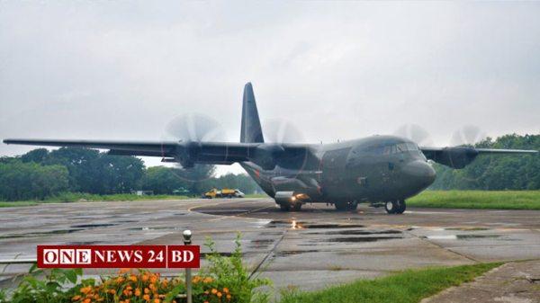 টিকা আনতে চীন গেল বিমান বাহিনীর উড়োজাহাজ