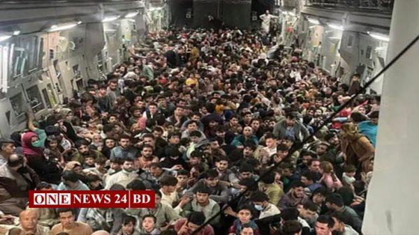 যেভাবে মার্কিন বিমানে উঠল ৬৪০ আফগান