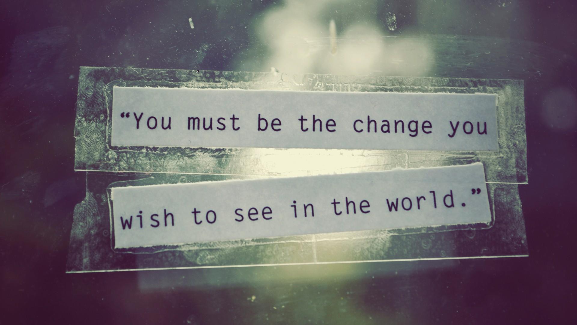 be the change, www.onenomadwoman.com,
