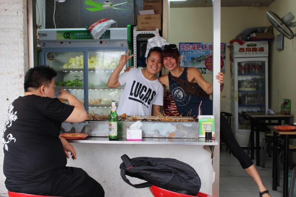 beijing china, china street food,