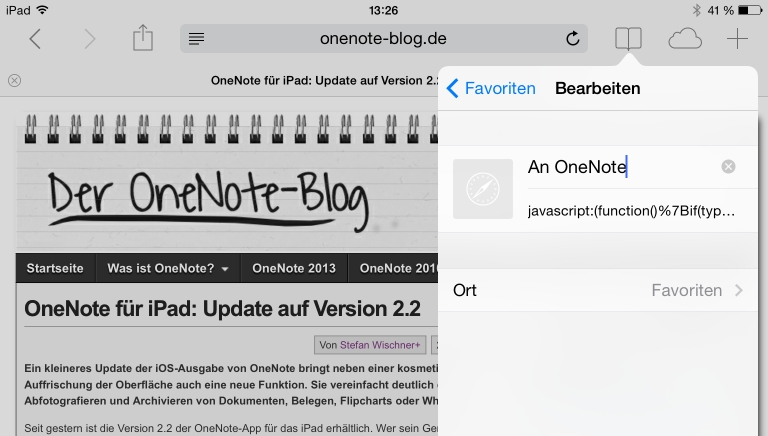 OneNote-Web-Clipper auf iPad, iPhone und Android   OneNote-Blog
