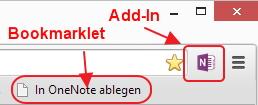 Hübsches Symbol, weniger Platzbedarf, sonst alles beim Alten. Der neue Chrome-Webclipper bietet gegenüber dem Bookmarklet nichts Neues.
