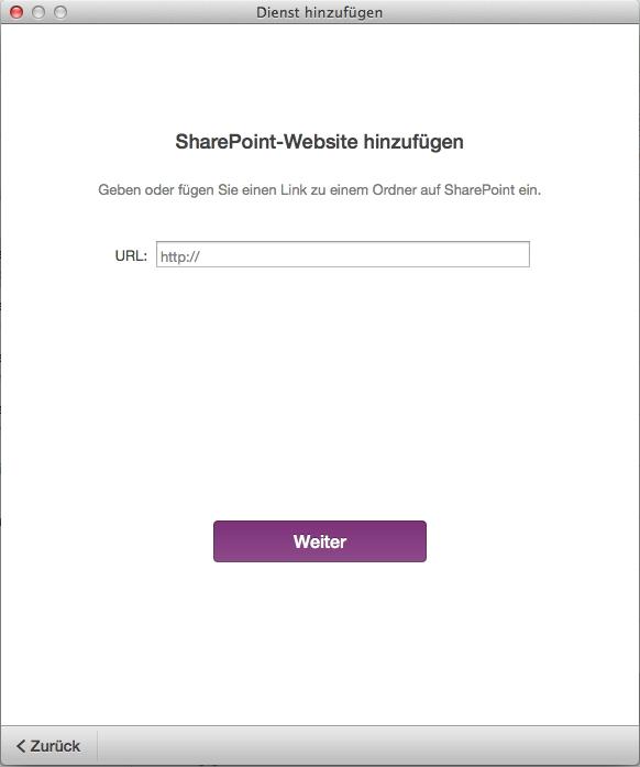 Mac-Nutzer dürfen jetzt auch auf Notizbücher auf einem firmeneigenen Sharepoint-Server zugreifen, benötigen aber ein aktives Abo von Office 365.